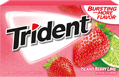 Trident Island Berry Lime 14pc