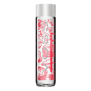 VOSS 375ml Strawberry Ginger Perlivá Sklo