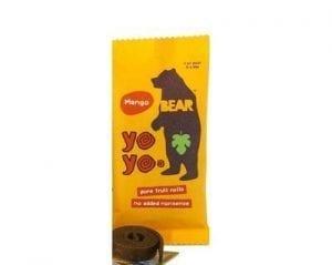 Yoyo Bear Fruit Rolls Mango 20g