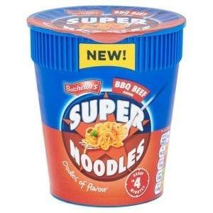 Batchelors Super Noodles Pot Bbq Beef 75g