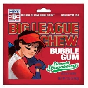 Big League Chew Strawberry 60g