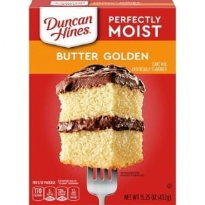 Duncan Hines Butter Golden Cake Mix 432g