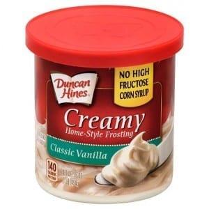 Duncan Hines Classic Vanilla Frosting 454g