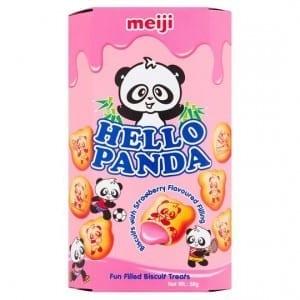 Meiji Hello Panda Strawberry 50g