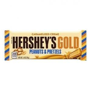Hershey's Gold Peanuts & Pretzels 39 g