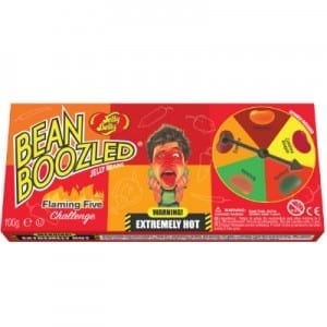 Jelly Belly Bean Boozled Flamin Five Game 100g