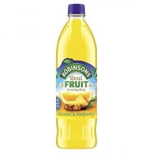 Robinsons Real Fruit Orange & Pineapple No Added Sugar 1L