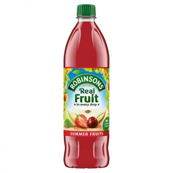 Robinsons Summer Fruit No Added Sugar 1l