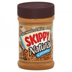 Skippy Natural Creamy Peanut Butter 425g
