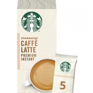 Starbucks Caffé Latte Premium Instant Smooth & Creamy 5x14g