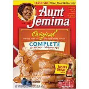 Aunt Jemima Complete Original Pancake & Waffle Mix 907g