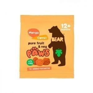 Bear Labky Mango & Mrkva 20g