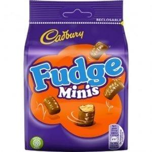 Cadbury Fudge Bites 120g