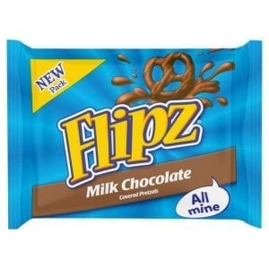 Flipz Milk Chocolate 37g