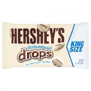 Hershey's Cookies 'n' Creme Drops 59g