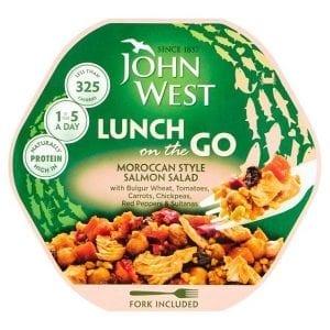 John West Moroccan Style Salmon Salad 220 g