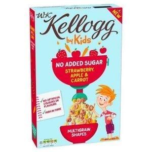 Kellogg's Kids Strawberry, Apple & Carrot 350g