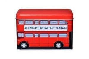 London Red Bus English Breakfast Tea Tin 40 ks 125 g