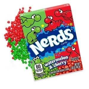 Nerds Watermelon & Cherry 46,7 g