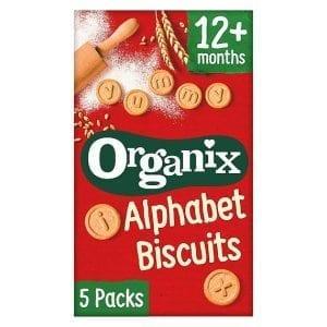 Organix Alphabet Bicsuit 5x25g