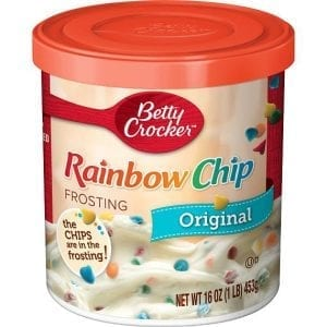 Betty Crocker Rainbow Chip Frosting 453g