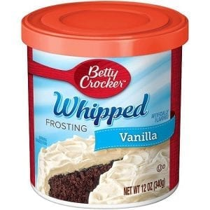 Betty Crocker Whipped Frosting Vanilla 340 g