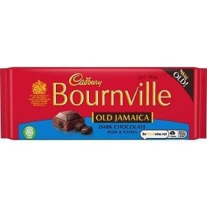 Cadbury Bournville OldJamaica 100g