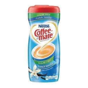 Coffee Mate Sugar Free French Vanilla 289 g