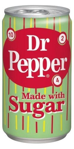 Dr. Pepper Real Sugar 355ml