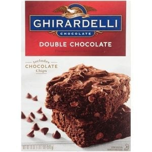 Ghirardelli Premium Double Chocolate Brownie Mix 510g