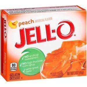 Jello Peach 85g
