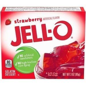 Jello Strawberry 85g