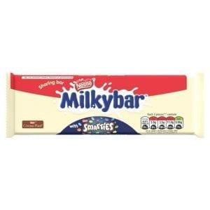 Nestl0 Milkybar Smarties Block 100g