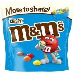 M&M's Crispy More To Share Pouch 246 g