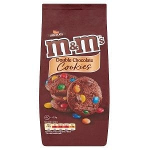 M&M's Double Chocolate Cookies 180 g