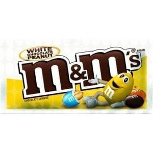 M&M's White Chocolate Peanut 38,6 g