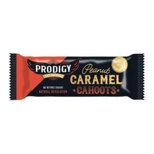 Prodigy Chunky Peanut & Caramel Bar 45g
