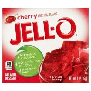 Jell-O Cherry 85 g
