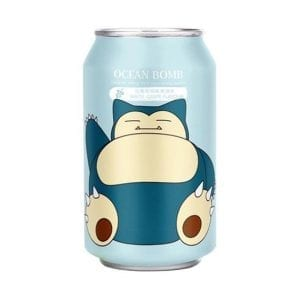 Ocean Bomb Snorlax White Grape Sparkling Water 330ml