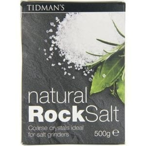 Tidman´s Natural Rock Salt 500g