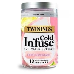 Twinings Cold Infuse Rose Lemonade 12S 30g