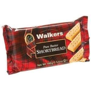 Walkers Pure Butter Shortbread 160g