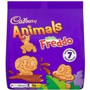 Cadbury Animals with Freddo 7×19,9 g