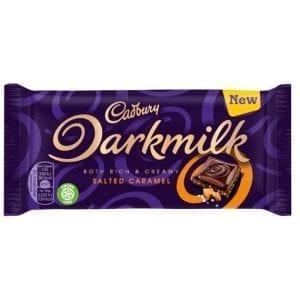 Cadbury Darkmilk Salted Caramel 85 g