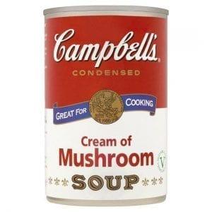 Campbell's Cream Of Mushroom Soup 295 g