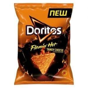 Doritos Flamin' Hot Tangy Cheese 150 g