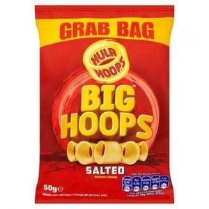 Hula Hoops Big Hoops Salted 50g
