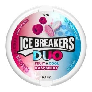 Ice Breakers Duo Fruit + Cool Raspberry 36g
