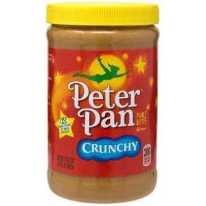 Peter Pan Crunchy Peanut Butter 462g