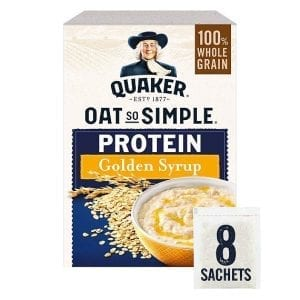 Quaker Oat So Simple Protein Golden Syrup 8x43g